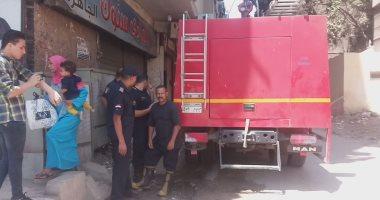 إصابة طالب فى حريق منزل مكون من 3 طوابق بسوهاج