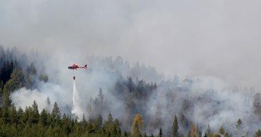 إيطاليا ترسل طائرتين للمساعدة فى إخماد حرائق الغابات باليونان