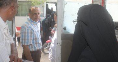 """إجراء تحاليل لـ 3 آلاف و950 مواطن فى قافلة لعلاج فيروس """"سى"""" بكفر الشيخ"""