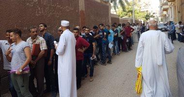 صور.. أولياء أمور طلاب العامة بأسيوط يشكون إجراءات تقديم التظلمات