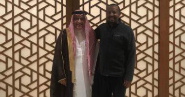 أحمد قطان يلتقى رئيس الوزراء الإثيوبى فى منزله بأديس أبابا