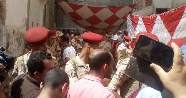 فيديو وصور.. شاهد ما يحدث فى موقع اكتشاف تابوت الإسكندرية