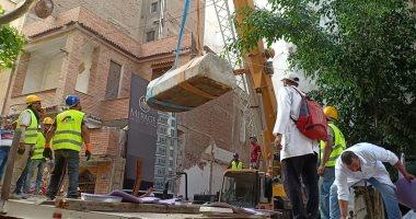 حصاد الثقافة.. نقل تابوت الإسكندرية للمخازن