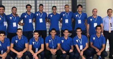 شباب الطائرة يهزمون الجزائر فى دورة الألعاب الأفريقية بالجزائر