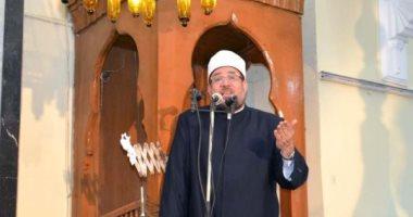 وزير الأوقاف يصل مسجد القائد إبراهيم لأداء صلاة الجمعة بالإسكندرية