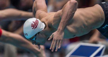 سباح مصرى يكسر الرقم القياسى فى منافسات 50 متر ببطولة ألمانيا الدولية للسباحة