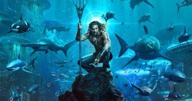 شاهد.. أول بوسترات لفيلم الفانتازيا Aquaman