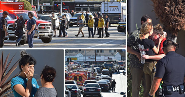 صور.. تفاصيل 120 دقيقة من الرعب فى لوس أنجلوس.. مسلح يحتجز رهائن داخل متجر بعد مطاردة مع الشرطة.. أطلق النار على جدته وصديقته قبل الفرار بسيارته.. ومحتجزون يفرون من نوافذ المبنى.. وترامب: أتابع الحادث