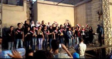 فيديو وصور.. فرقة كورال قصر الغورى تضىء مسرح الشاعر فى شارع المعز