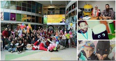 ضحك ولعب وعلاج وحب.. حكايات المتطوعين فى مستشفى 57357