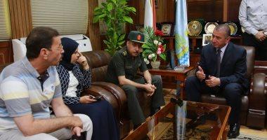 محافظ كفر الشيخ يستقبل رئيس الشركة المصرية للرمال السوداء لإنشاء المصنع الثانى