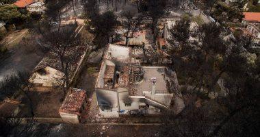 صور.. ارتفاع حصيلة ضحايا حرائق اليونان لـ 81 قتيلا