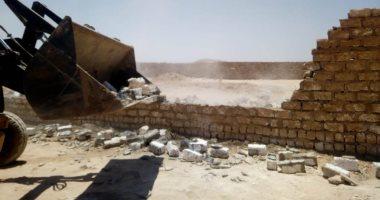 مجهول يطلق النيران على حملة تنفيذ قرار إزالة مبنى بأرض زراعية فى رشيد