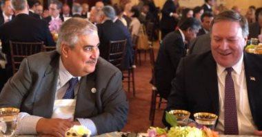 صور.. وزير خارجية البحرين يبحث مع نظيره الأمريكى تطورات الأوضاع فى المنطقة