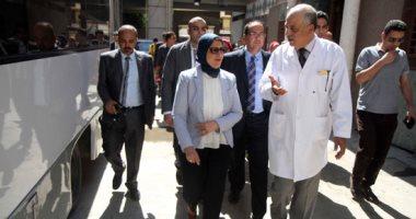 صور.. وزيرة الصحة: الوزارة تسدد للمستشفيات تكاليف الجراحات العاجلة بالأسعار الجديدة