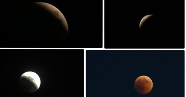 معهد الفلك يفتح أبوابه للمواطنين غدا لمتابعة خسوف القمر الجزئى