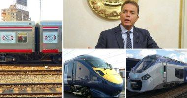 جهاز الإحصاء: 396.7 مليون جنيه إيرادات السكة الحديد خلال 60 يوما