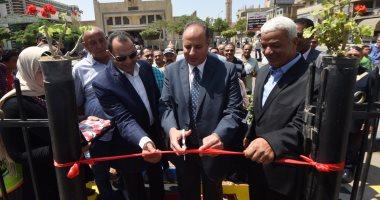 فيديو وصور.. محافظ الإسكندرية: تحويل ميدان أبو قير من منطقة تجميع قمامة إلى منطقة حضارية