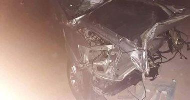 إصابة 4 أشخاص فى حادث انقلاب سيارة ملاكى بزراعى البحيرة