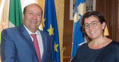 وكالة إيطالية تشيد بانطلاق حوارات الفن والإبداع بين مصر وإيطاليا