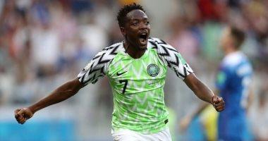 صاروخ أحمد موسى يزين ثلاثية نيجيريا ضد سيشيل بتصفيات إفريقيا.. فيديو