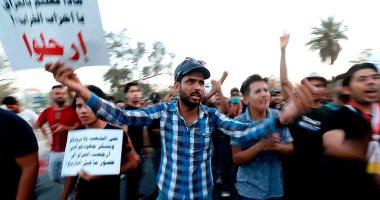 تجدد التظاهرات فى العاصمة العراقية وسط إجراءات أمنية مشددة