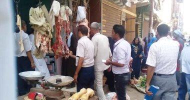 تحرير 105 قضايا تموينية فى حملة لإعادة الانضباط للأسواق بالجيزة