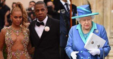 هل رفضت الملكة إليزابيث تواجد بيونسيه وجاى زد بقصر باكنجهام؟
