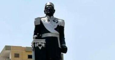 التنسيق الحضارى والفنون التشكيلية يشكلان لجنة بعد تشويه تمثال الخديو إسماعيل