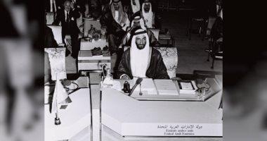 15 صورة نادرة للشيخ زايد بن سلطان آل نهيان مؤسس دولة الإمارات