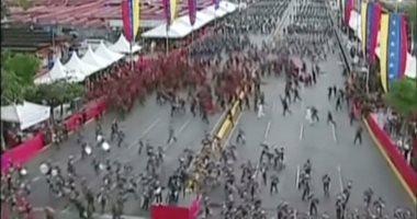 الرئيس الفنزويلى نيكولاس مادورو يتعرض لمحاولة اغتيال فاشلة