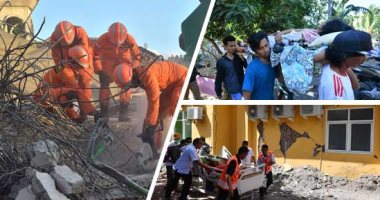 """98 قتيلا وإجلاء 2000 سائح بسبب زلزال """"لومبوك"""" الإندونيسية"""