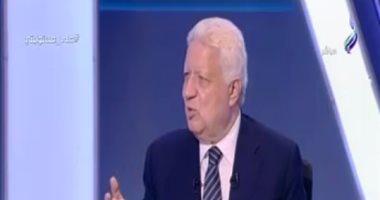 فيديو.. مرتضى منصور: مرسى اغتصب السلطة ولولا الرئيس السيسى لعدنا إلى زمن الطرابيش