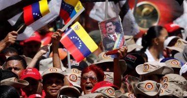 آلاف الفنزويليين يخرجون فى مسيرات تأييدا للرئيس نيكولاس مادورو