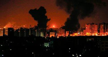 طائرات الاحتلال الإسرائيلى تشن غارات على عدة أهداف من قطاع غزة