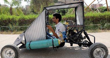 ديلى ميل تسلط الضوء على مشروع تخرج طلاب مصريين طوروا سيارة تعمل بالهواء