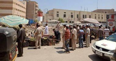حملة مكبرة لإزالة الإشغالات والتعديات بشوارع مدينة الزقازيق بالشرقية