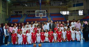 صور..وزير الرياضة يعلن رعاية البطولة العربية للسلة سيدات بنادى الأولمبى