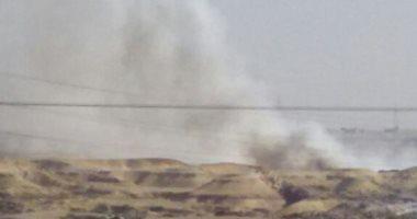 شكوى من استمرار حرائق القمامة بالتجمع الثالث فى القاهرة الجديدة
