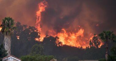 الحرائق تتمتد وتلتهم الأخضر واليابس فى كاليفورنيا الأمريكية