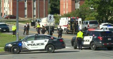صور.. الشرطة الكندية تنهى حالة الغلق التى فرضتها بمنطقة شهدت إطلاق نار اليوم