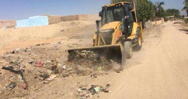 محافظ سوهاج : رفع 40 طن قمامة ومخلفات صلبة بمركز البلينا
