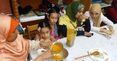 ثقافة أسوان يستضيف ورشة لتدريب ذوى الاحتياجات على حفظ الطعام