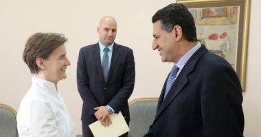 رئيسة وزراء صربيا تبحث مع سفير مصر ببلجراد سبل تعزيز العلاقات الاقتصادية