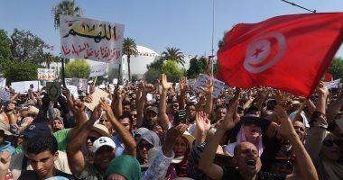 محتجون يطالبون بفرص عمل يوقفون إنتاج الفوسفات فى تونس بشكل كامل