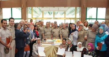 القوات المسلحة تحتفل بتخرج المتأهلين فى دورات العاملين بالمجال الطبى
