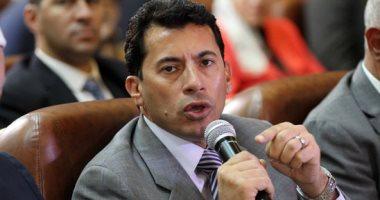 وزير الرياضة يهنئ منتخب شباب اليد بتتويجه باللقب الأفريقى فى المغرب