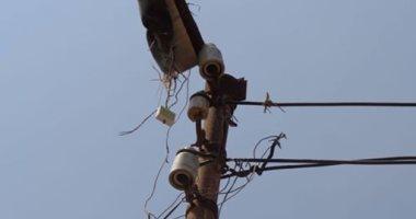 تهالك أعمدة الإنارة ومحولات الكهرباء فى قرية عبدالشهيد بكفر صقر بالشرقية