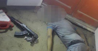 فيديو وصور .. مقتل 6 إرهابيين فى أكتوبر خططوا لاستهداف منشآت الدولة بعيد الأضحى