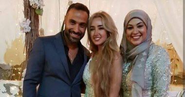 فيديو وصور.. خطوبة أحمد فهمى وهنا الزاهد وسط حضور عائلى